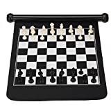 TENGGO 2 In 1 Travel Suspended Target Darts Outdoor Double-sided Magnetic Chess Plate Roll-up Game Tools