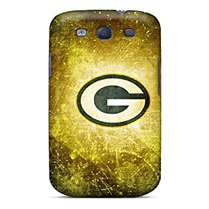 PTN744CGAK Anti-scratch Case Cover WilliamsGA Protective Green Bay Packers Case For Galaxy S3