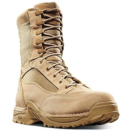 Danner Men's Desert Tfx Rough Out Tan GTX Military Boot,Tan,