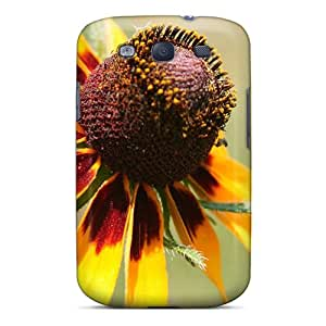 New Design Shatterproof Mjm155Uvdh Case For Galaxy S3 (mother S Day Beautiful Flower Black Eyed Flower)