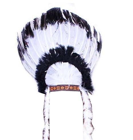 prima i clienti prezzi al dettaglio sconto speciale di LUNA VOW Cappello con Copricapo di Piume Indian Party Cos ...