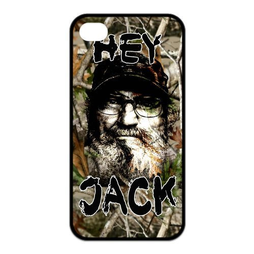 Fayruz- Duck Dynasty Protective Hard TPU Rubber Cover Case for iPhone 4 / 4S Phone Cases A-i4K05