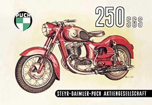 Puch 250 SGS - Steyr-Daimler-Puch Aktiengesellschaft, 12x18 Paper Giclée