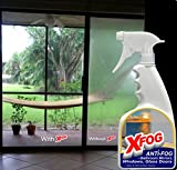 no condensation glass cleaner - NO MORE HUMIDITY in Your Home Windows. XFOG, Glass & Windows Cleaner with Anti-Fog for Your Household. Spray Bottle 32 oz