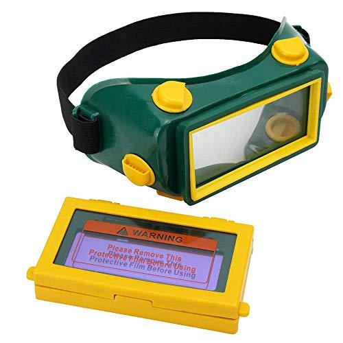 (TOSENBA Solar Auto Darkening Welding Eyes Goggle Mask Helmet Welder Glasses)