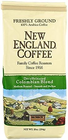 New England Coffee Hazelnut Creme, Decaffeinated, 10 Ounce 0078778077018