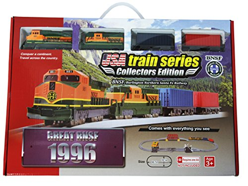 LEC USA 1996 Burlington Northern Sante Fe Battery Operated Train Set