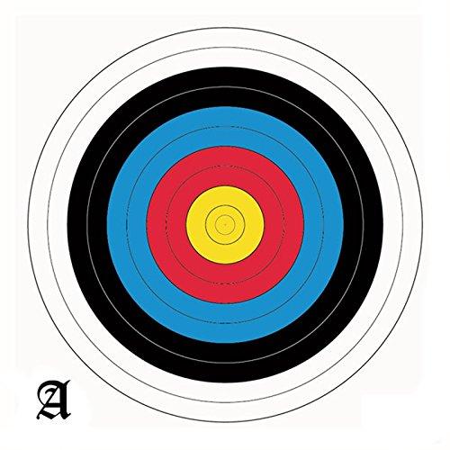 60cm Zielauflagen/ Scheibenauflagen Set mit 20 Scheiben