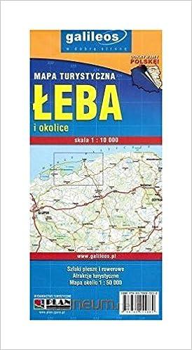 Mapa Turystyczna ĺeba I Okolice 1 10 000 Unknown 9788360044889