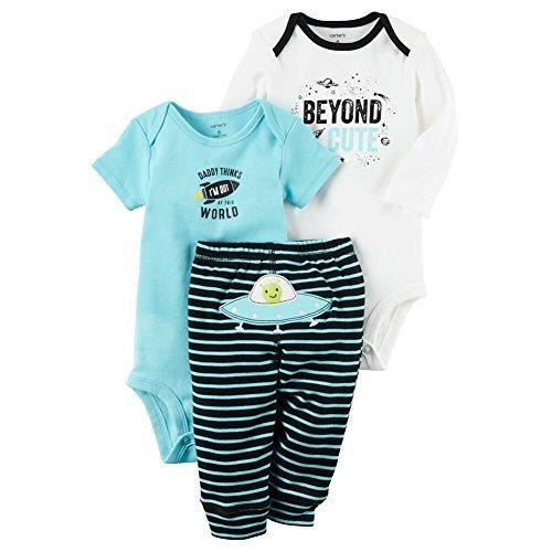 Carter's Baby Boys' 3 Piece Beyond Cute Set 12 Months