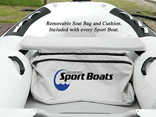 Inflatable Sport Boats Shark 9.8' - Model 300 - Aluminum Floor Dinghy with Seat Bag by Inflatable Sport Boats (Image #3)