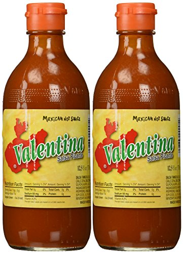 - Valentina Salsa Picante Mexican Hot Sauce - 12.5 oz. (Pack of 2)