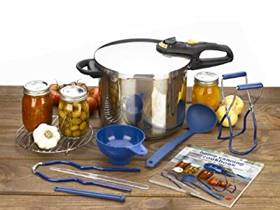 Fagor Duo 10 Piece Stainless Steel Pressure Canning Set by Fagor