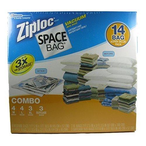 4 x Ziploc Space Bag Vacuum Seal Bolsas 14 bolsa variedad ...