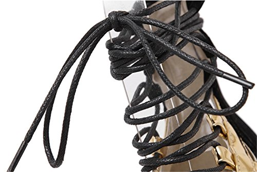 Moda De Ayuda Sandalias De Pescado Silver De Zapatos De Kitzen Mujer Pescado Prueba Boca Plataforma Reina Alta De Hueco Zapatos Boca Correas Tacones Piernas Altos de Agua A wX7qfdx7zg