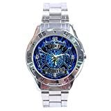 Firefighter Logo Stainless Steel Analogue Men Watch Special Edition