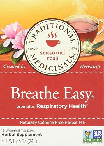 Traditional Medicinals Breathe Easy 16 Tea Bags, 0.85 Ounce