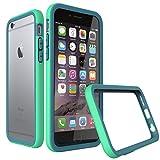 RhinoShield CrashGuard Slim Impact Bumper for iPhone 6 Plus/6s Plus, Green