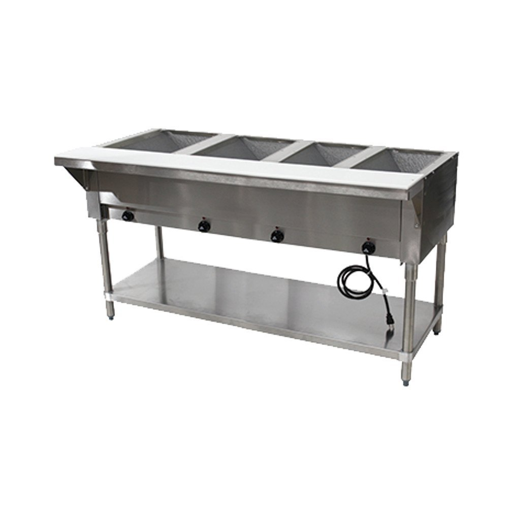 Advance Tabco HF-4E-240 208-240V Electric Hot Food Table by Advance Tabco