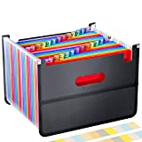 26 Pockets Accordian File Organizer,Expanding