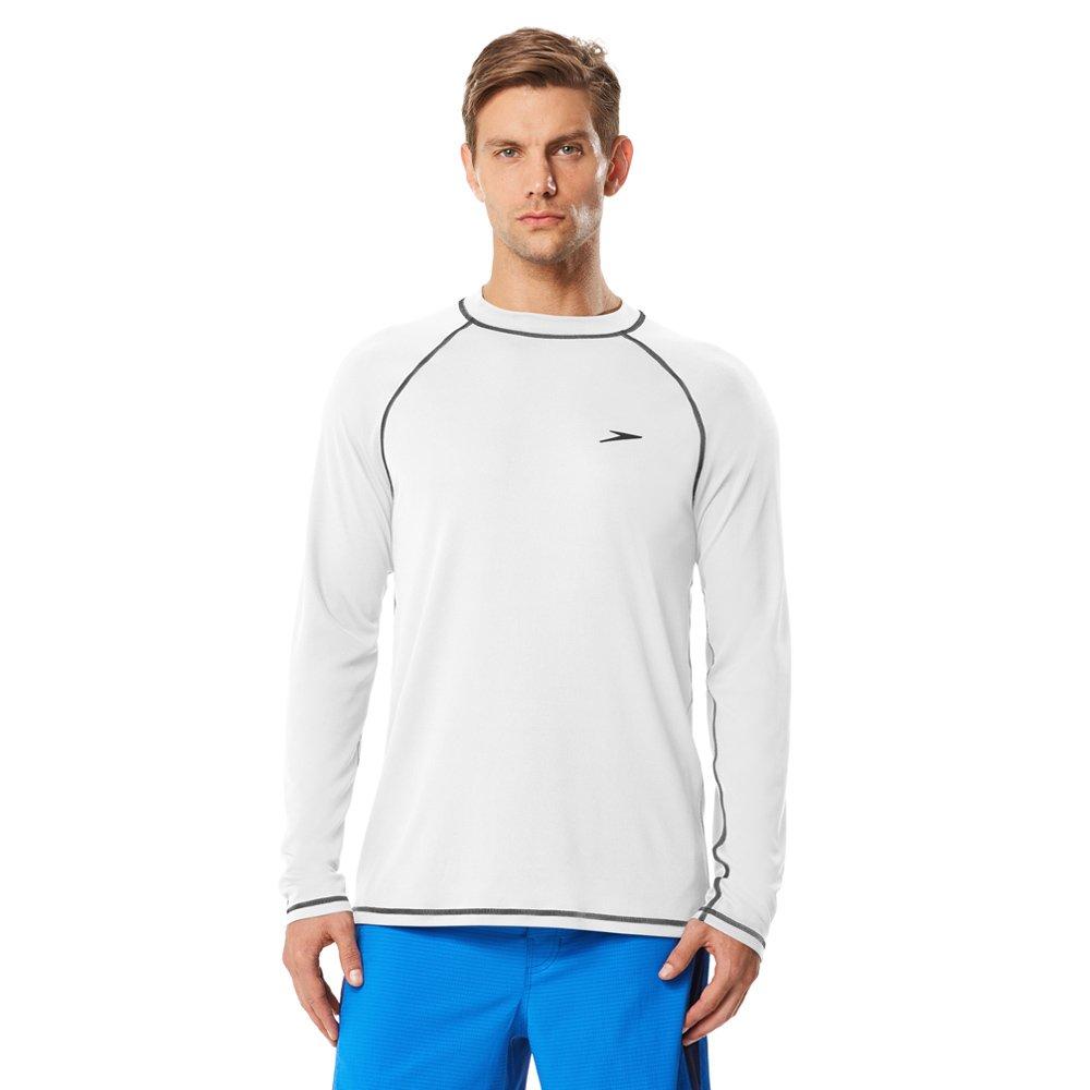 Speedo Mens Easy Long Sleeve Swim Tee Shirt