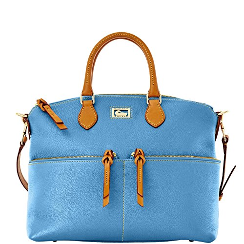 Dooney & Bourke Dillen Double Pocket Satchel, Sky Blue