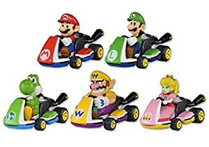 tomy pocket money toys mario kart eight pull back racers by tomy toys games. Black Bedroom Furniture Sets. Home Design Ideas