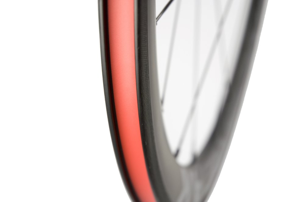 Sunrise Bike Carbon Road Wheels 700C 50mm Clincher Wheelset 3k Matte Finish with Decal by SunRise (Image #7)