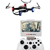 DAZHONG LIDI RC 5.8G Real Time PFV Quadcopter RC Drone with 2.0MP HD Camera Headless Mode and Barometer Set Height Mode Function Colors Random