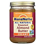 MARANATHA NATURAL FOODS, ALMOND BTR, RST, CRY, ALM, NS - Pack of 6