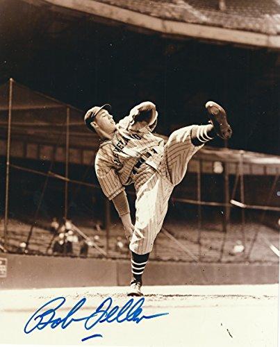 Autographed Hof'r Bob Feller 8x10 Cleveland Indians (Bob Feller Merchandise)