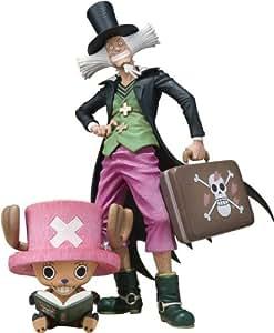 Tamashii Nations - One Piece: Tony Tony Chopper & Dr. Hiluluk, figura de 6 cm/17 cm (Bandai BDIOP776976)