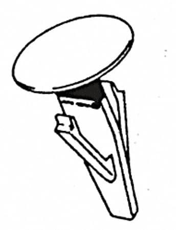 Amazon Com Crl 1990 Nissan Sentra Rear Bumper Fascia Retainer