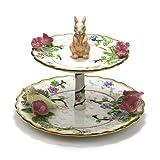 avon dishes - Springtime by Avon, Ceramic Tier Serving Tray