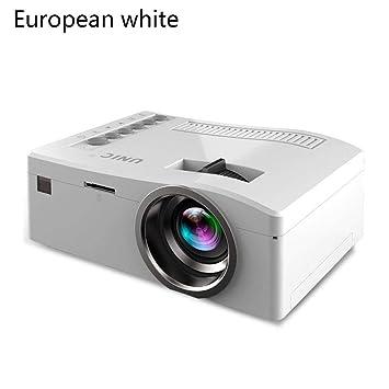 Sisaki Proyector Mini Vídeo Portatil Proyector HD soporta 1080p ...