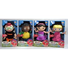 Complete set of 4 Little Einsteins Classical Talking Singing Friend Leo, Quincy, June and Annie