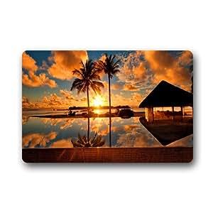 """Exclusive Resort Beach Customized Durable Home Decor Doormat 25.6""""x 15.7"""""""