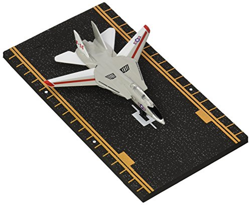 Hot Wings F-14 Tomcat (with Military Markings) with Connectible Runway Die Cast Model Airplane, Grey