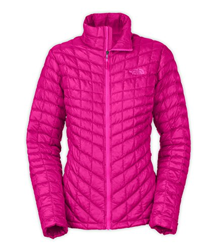 The North Face Women Thermoball Full Zip Jacket Fuschia Pink CTL4146 Size Small (North Face Resolve Jacket Womens)