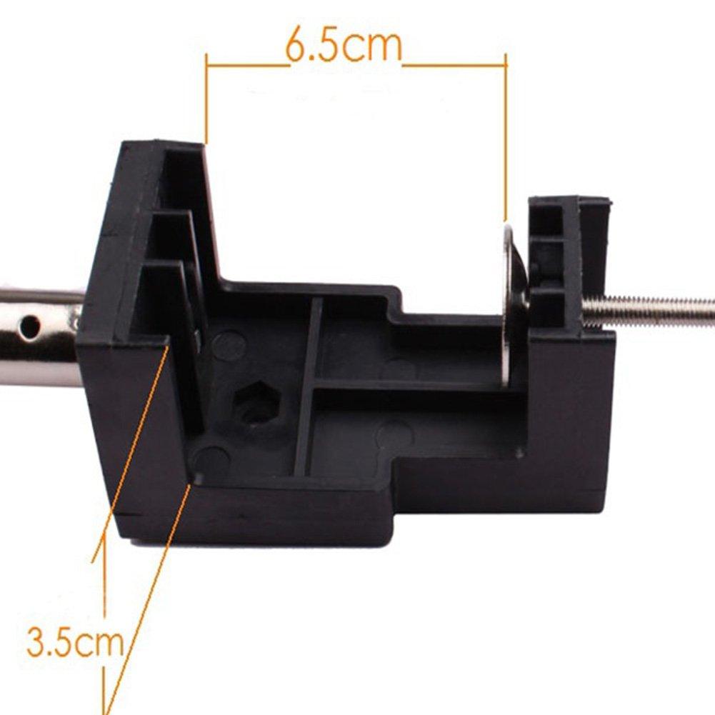 Teleskop-H/ängest/änge Halteklaue Drehwerkzeug Schleifst/änder Flex-Schafthalterung schwarz Drehschleifer