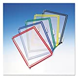 Tarifold, Inc. P090 - Replacement Pivoting Pockets for Wall Unit and Desktop Starter Set, 10/Pack-TFIP090