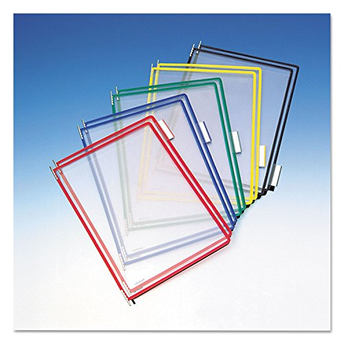 Panel Pivoting (Tarifold P090 Pivoting Pockets, Assorted Colors, 10-Pack)