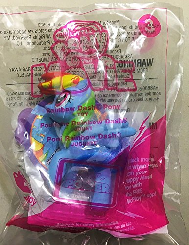 Amazon com: MLP Rainbow Dash Little Pony #3 McDonald's 2017