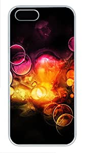iPhone 5S Cases & Covers -Super Colorful Background Custom PC Hard Case Cover for iPhone 5/5S ¨C White