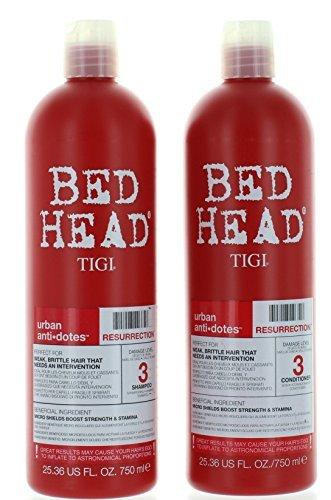 TIGI Bed Head Resurrection Shampoo/Conditioner (25.36oz) Set by Bed Head