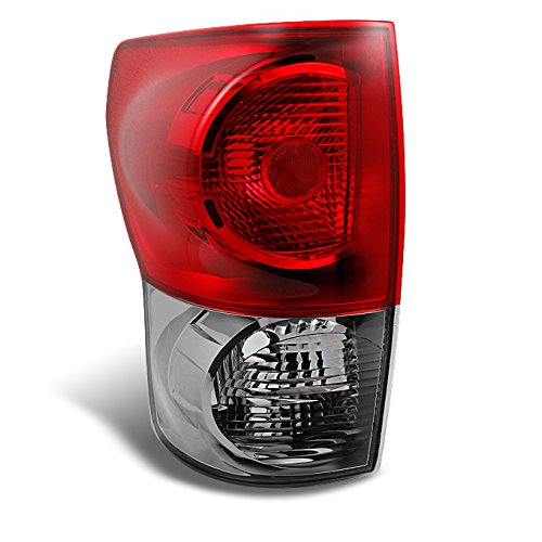 Toyota Tundra Pickup Truck Red Clear Tail Light Rear Brake Lamp Driver Left Side - Pickup Tundra Truck Toyota Drivers