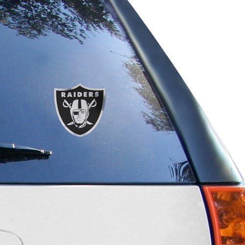"Stockdale Oakland Raiders Metallic Decal 6/""x6/"""