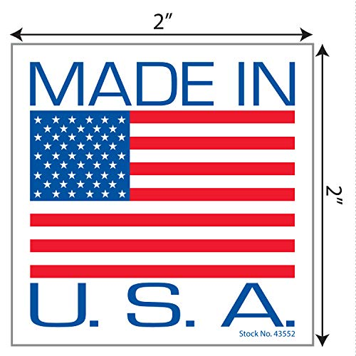 Tabbies Shipping & Handling Labels Red, White & Blue, 2