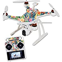 Skin For Blade Chroma Quadcopter – Koi Pond | MightySkins Protective, Durable, and Unique Vinyl Decal wrap cover | Easy To Apply, Remove, and Change Styles | Made in the USA