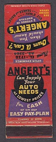 Angert's Auto Supply Store Buffalo NY - Buffalo Ny Stores